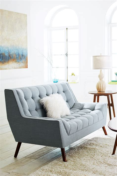 Small Sofas And Loveseats by Oversized Furniture Can Quickly Make A Small Space Feel