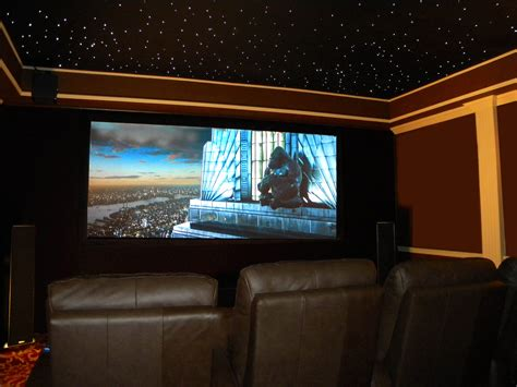 dazzling concepts of Cool Home Theater Rooms with dark