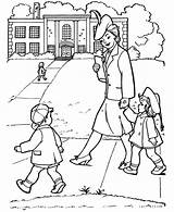 Coloring Parents Pages Gran Netart Getcoloringpages sketch template