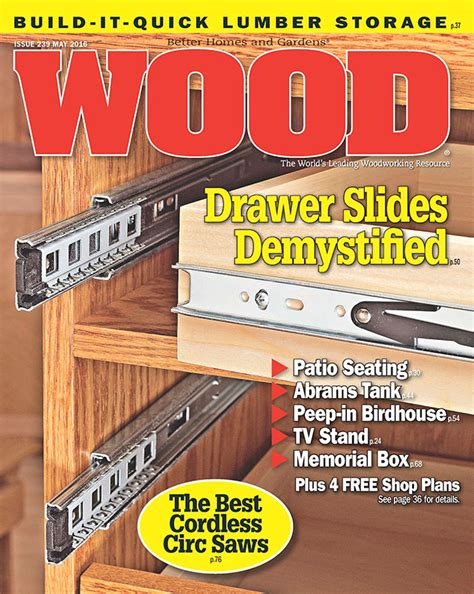 wood issue    woodworking plan  wood magazine