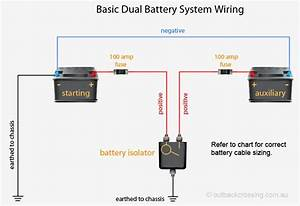 12 Volt 2 Battery System Wiring Diagram