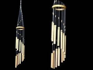 Carillon A Vent : carillon vent bois bambou 14 tubes 75 cm ~ Melissatoandfro.com Idées de Décoration