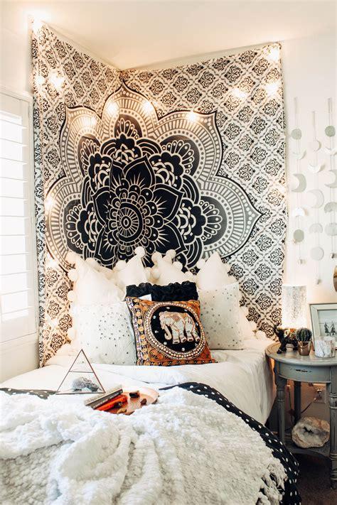 fame mandala tapestry bedrooms dorm  room ideas