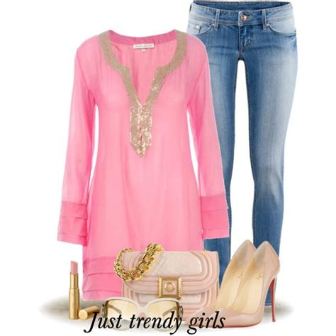 breast cancer awareness pink outfits  trendy girls