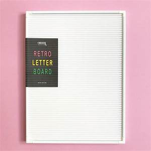 colour pop retro letter board peg sign by berylune With retro letter board
