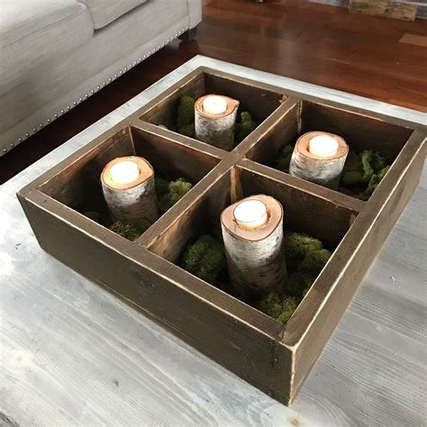 For example, gather apples and bananas in a decorative fruit basket or bowl, or place one by the door to hold your keys and wallet. Coffee table centerpiece | restaurant decor | Coffee table centerpieces, Coffee shop, Table ...