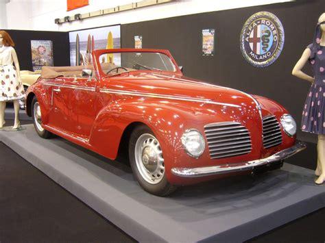 Alfa Romeo 6c 2500 Mit Einer Cabriolet Karosserie Von