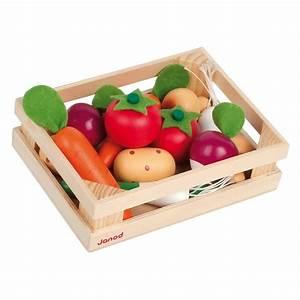 Cagette En Bois : cagette en bois janod 12 l gumes marchande jouet en bois ~ Teatrodelosmanantiales.com Idées de Décoration