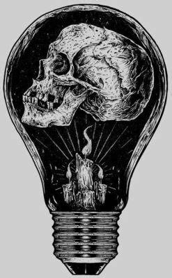 Horror Skull Morbid Macabre Ldarknessl