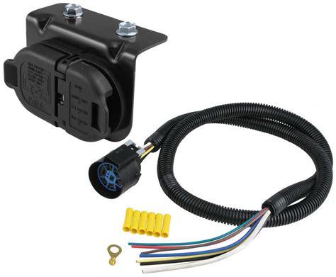 pollak 7 pole and 4 pole trailer connector sockets w
