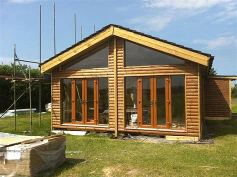 log cabin lodge 60ft x 20ft 4bed log cabin lodge timber frame park