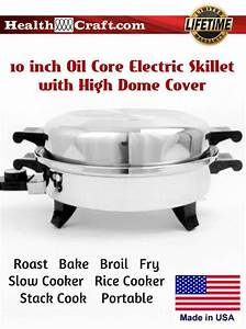 Oil Core Electric Skillet And Saucepan Temperature Chart