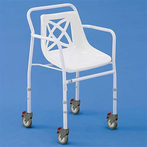 harrogate wheeled adjustable shower chair shower chairs