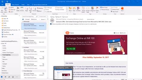 Office 365 Mail Themes by How To Change Office Theme In Microsoft Outlook 2016