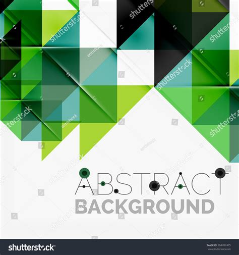 Abstract Shapes Overlapping by Abstract Geometric Background Modern Overlapping Triangles