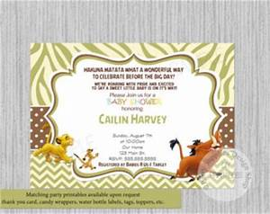 Baby shower lion king invitations lion king baby shower invitation printable lion king baby shower invitations filmwisefo
