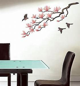 Elegant stencils for walls large stencils modern for Stencil wall art