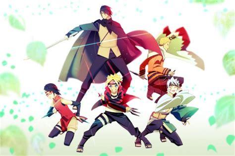 Wallpaper Boruto Uzumaki Sasuke Uchiha Boruto Anime