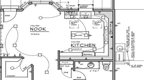Bedroom House Plans Electrical Plan Design