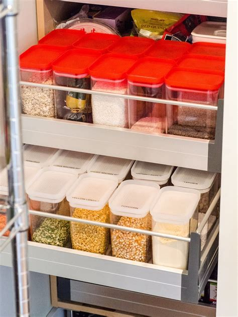 Kitchen Food Organization by Why You Should Use Square Or Rectangular Food Storage