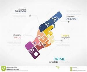 Crime Stock Vector  Illustration Of Flat  Illustration