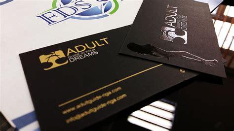 adult guide black business cards design black paper gold