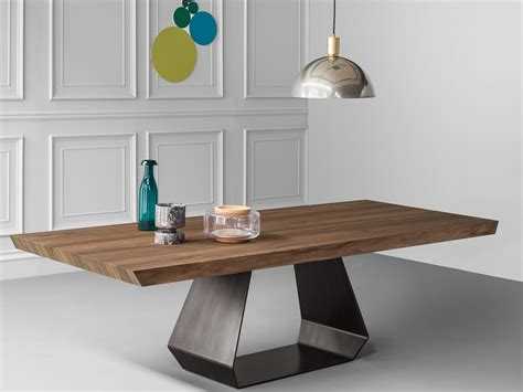 table et chaise design amond wooden table amond collection by bonaldo design gino