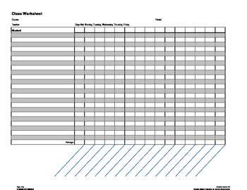 generic gradebook template  krissy edwards teachers