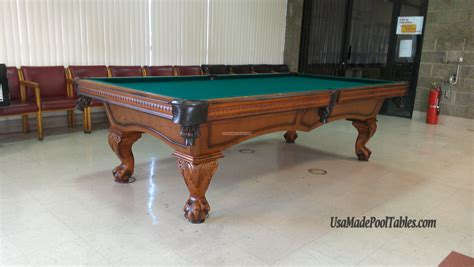 how many feet is a pool table carlton pool tables pool tables 9 foot pool table