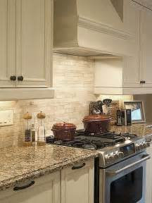 Tile Backsplashes For Kitchens Light Ivory Travertine Kitchen Subway Backsplash Tile Backsplash