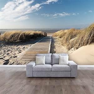 Wasserfeste Tapete Dusche : carta da parati mare e spiaggia ecco 20 idee per sognare ~ Sanjose-hotels-ca.com Haus und Dekorationen