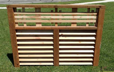 wood louver ac unit screen  tool belt