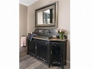meuble salle de bain retro chic avec les meilleures With meuble salle de bain brocante
