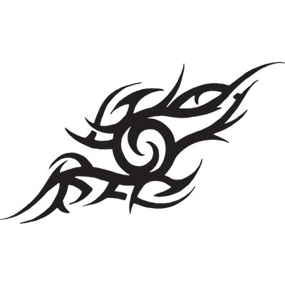 abstract flame tattoo transparent png stickpng