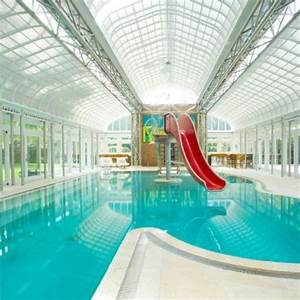 Fun indoor pool with red slide! | All Kinds of Pools ...