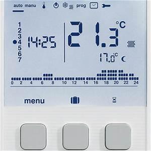 Thermostat Ambiance Chaudiere Gaz : thermostats d 39 ambiance digitaux ~ Dailycaller-alerts.com Idées de Décoration