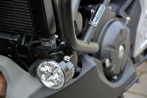 led zusatzscheinwerfer motorrad e geprüft led tagfahrlicht drl rund im alugeh 228 use f 252 r motorrad zusatz scheinwerfer ebay