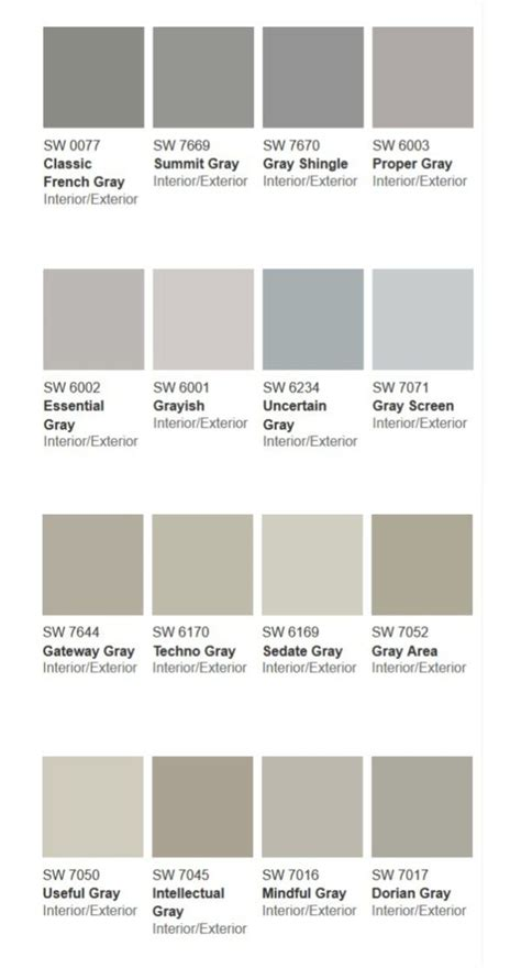 shades of grey color more than 50 shades of gray paint paint colors for