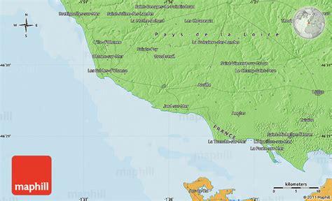 political map of les sables d olonne