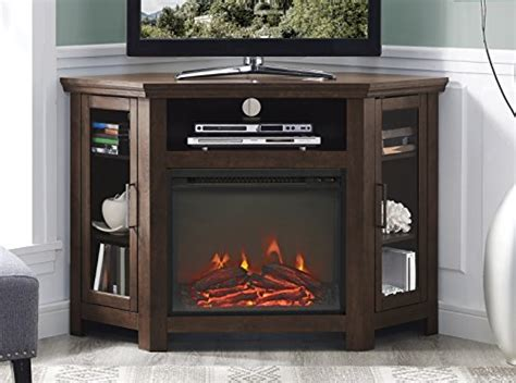 compare price electric fireplace corner unit