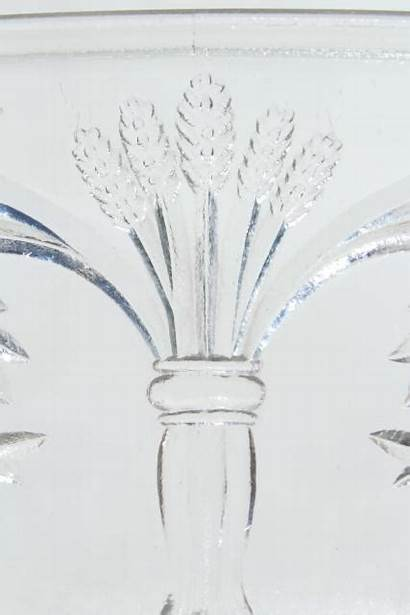 Wheat Pattern Glass Corn Antique Pressed Barley