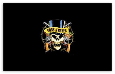 Guns 'n' Roses Logo (HD) Ultra HD Desktop Background