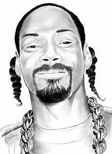 Snoop Dogg Digital Art by Kevin L Brooks