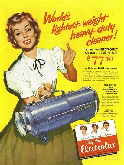 1950s Ads Electrolux Advertising Vacuum 1950 Cleaner