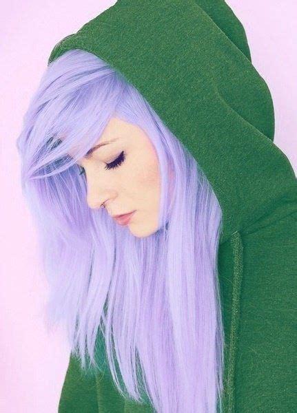 Light Purple Hair Dye Green Sweatshirt Hair Ideas