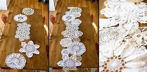 1001 tutoriels et idees diy de deco avec dentelle With idee couleur pour salon 17 diy mariage fabriquer des napperons en papier
