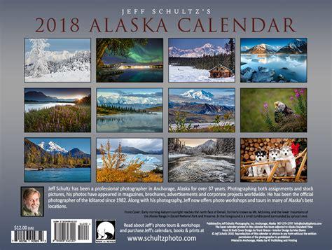 alaska calendar jeff schultz photography