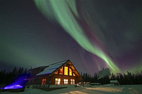 northern lights resort  spa  yukon canada