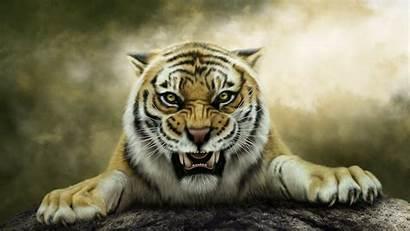 Tiger Bengal 3d Roaring