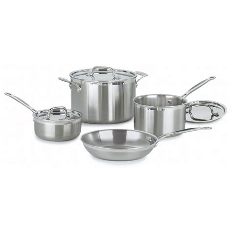 cuisinart kitchen pro cuisinart multiclad pro 7 cookware set reviews